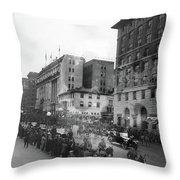 Coolidge Inauguration, 1925 Throw Pillow