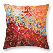 Cooling Lava Throw Pillow