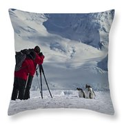 Cooperative Models... Throw Pillow