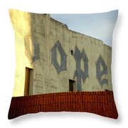 Coopers Ghost Sign 14476 Throw Pillow