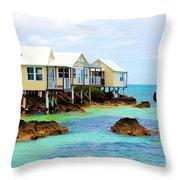 Copa Cabana Throw Pillow