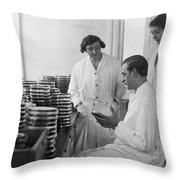 Copenhagen Serum Institute Throw Pillow