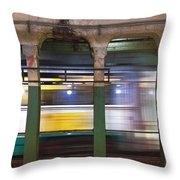 Copley Station Throw Pillow