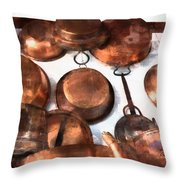 Copper - Featured In Inanimate Objects Group Throw Pillow