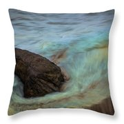 Copper Fish Throw Pillow