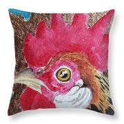 Copper Nugget Throw Pillow