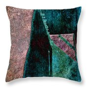 Copper Plate Throw Pillow