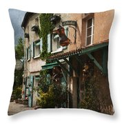Copper Sales Store Durfort France Throw Pillow