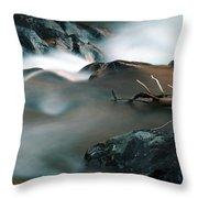 Copper Stream 2 Throw Pillow