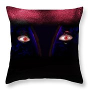 Copperman Throw Pillow by Gunter Nezhoda