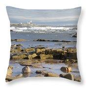 Coquet Island Throw Pillow