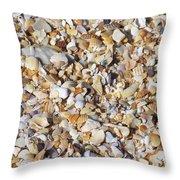 Coquina Crush Throw Pillow