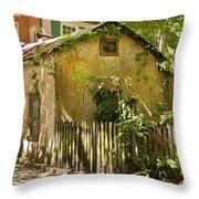 Coquina House Throw Pillow