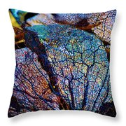 Coral Beached Throw Pillow