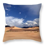 Coral Pink Sand Dunes Throw Pillow