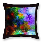 Coral Reef Impression 5 Throw Pillow