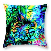 Coral Reef Beauty Throw Pillow