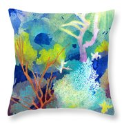 Coral Reef Dreams 1 Throw Pillow