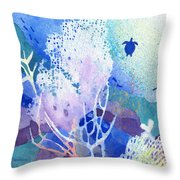 Coral Reef Dreams 5 Throw Pillow