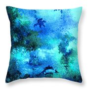 Coral Reef Impression 12 Throw Pillow
