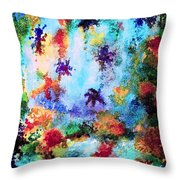 Coral Reef Impression 16 Throw Pillow