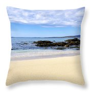 Coral Strand Throw Pillow