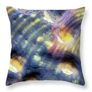 Corals 3 Throw Pillow