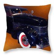 Cord Phaeton 1936 Throw Pillow