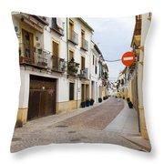 Cordoba Old Town Houses Throw Pillow