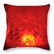 Core Flame Throw Pillow