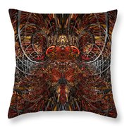 Core Of The King Fx  Throw Pillow