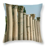 Corinthian Columns In Turkey Throw Pillow