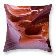 Corkscrew Canyon Throw Pillow
