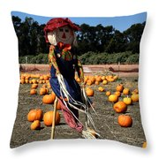 Corn Mom Throw Pillow