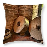 Corn Wheels Throw Pillow