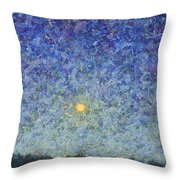 Cornbread Moon Throw Pillow