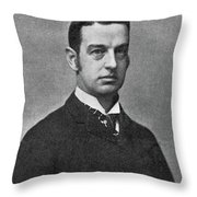 Cornelius Vanderbilt II (1843-1899) Throw Pillow