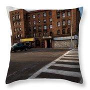 Corner Bar Throw Pillow