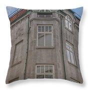 Corner Building Helsingborg 02 Throw Pillow