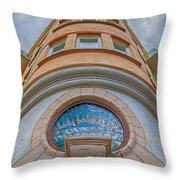 Corner Building Helsingborg Throw Pillow