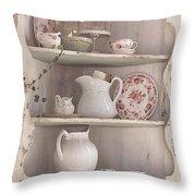Corner Cupboard Throw Pillow