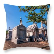 Corner Lot Throw Pillow