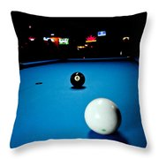 Corner Pocket Throw Pillow