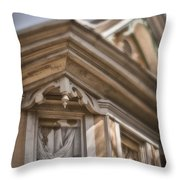 Corner Window Throw Pillow
