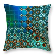 Cornered Throw Pillow by Wendy J St Christopher