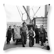 Cornflakes Throw Pillow
