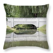 Corning Ny Denison Park Bridge Throw Pillow