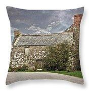 Cornish Farm Throw Pillow