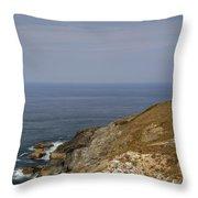 Cornwall - Trevose Head Throw Pillow