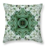 Cornwall Flowers Two Throw Pillow